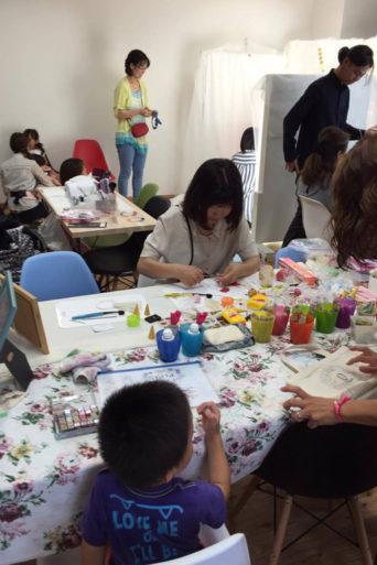 女性起業家のワークショップ
